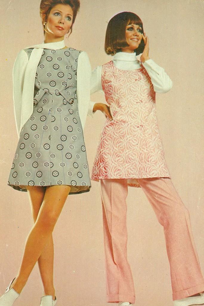 Платья 70-х годов ссср