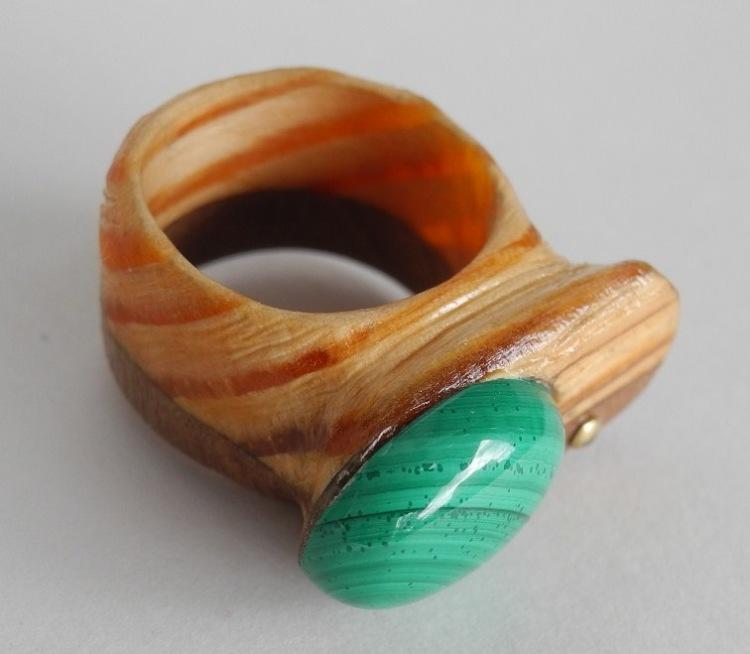 Как сделать деревянное кольцо своими руками