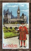 """Предпросмотр - Схема вышивки  """"Лондон """" - Схемы автора..."""
