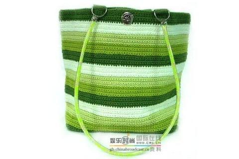 Вязаная крючком пляжная сумка своими руками 1034