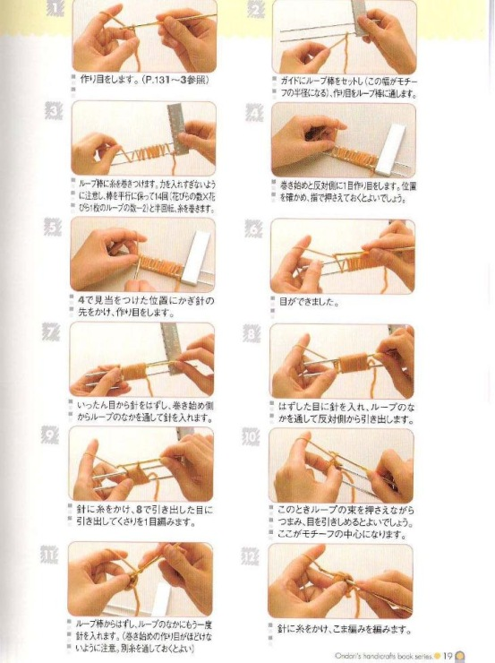 Вязание на вилке для начинающих: схемы, описание техники 10
