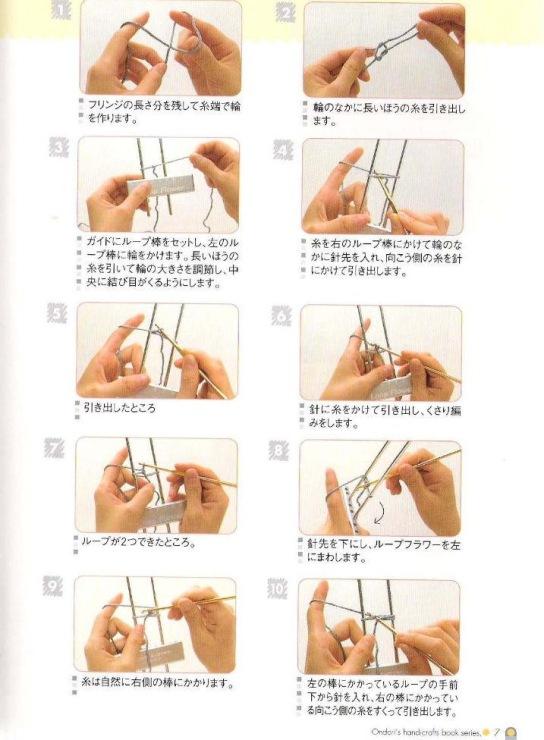 Вязание на вилке для начинающих: схемы, описание техники 17