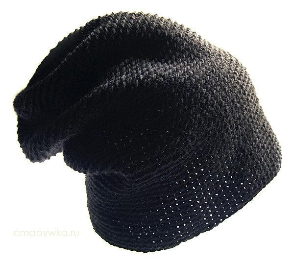 Описание: как связать шапку крючком схема. шапочка с полями, связанными...